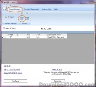 ezW2Correction - W-2c & W-3c software screenshot